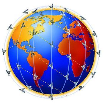 Зона покрытия спутниковой связи Иридиум