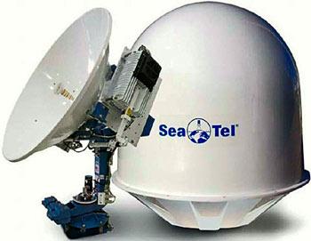 Морская приёмопередающая антенна Sea Tel 4004