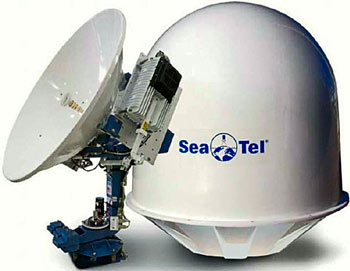 Морская приёмопередающая антенна Sea Tel 6009